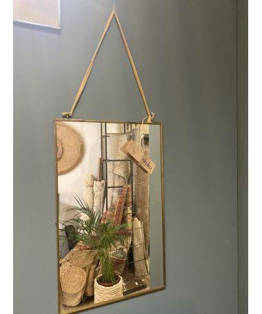 miroir kiko finition antique 40 x 25cm