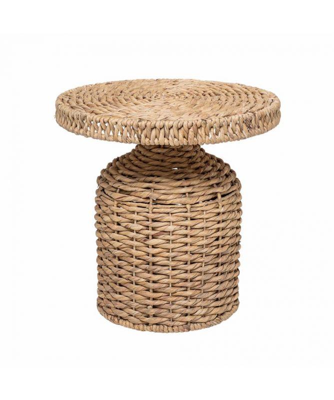 table d'appoint jacinthe d'eau